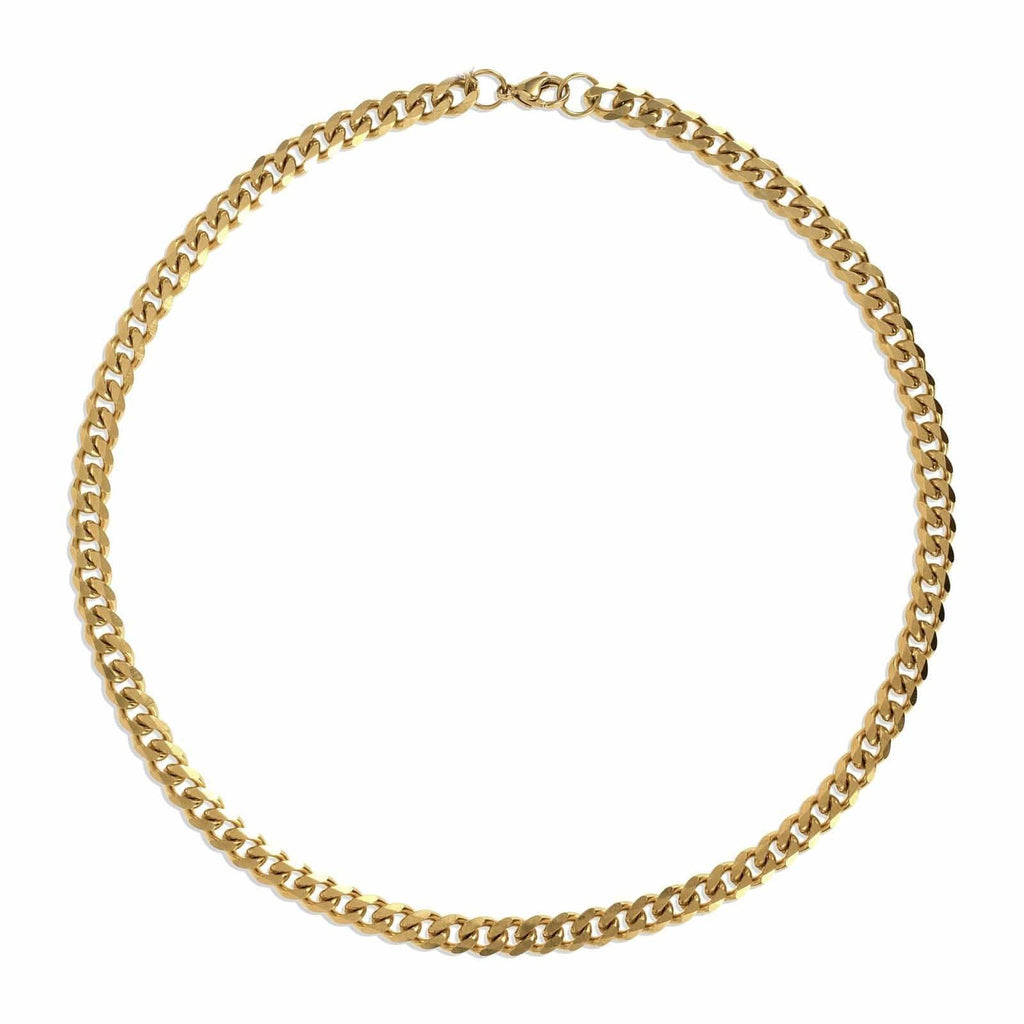 ELLIE VAIL - LIAM CUBAN LINK CHAIN NECKLACE