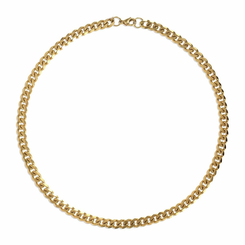 Ellie Vail - Liam Cuban Chain Necklace