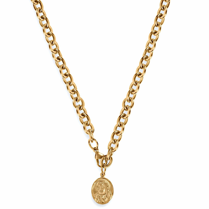 ELLIE VAIL - MARY COIN NECKLACE