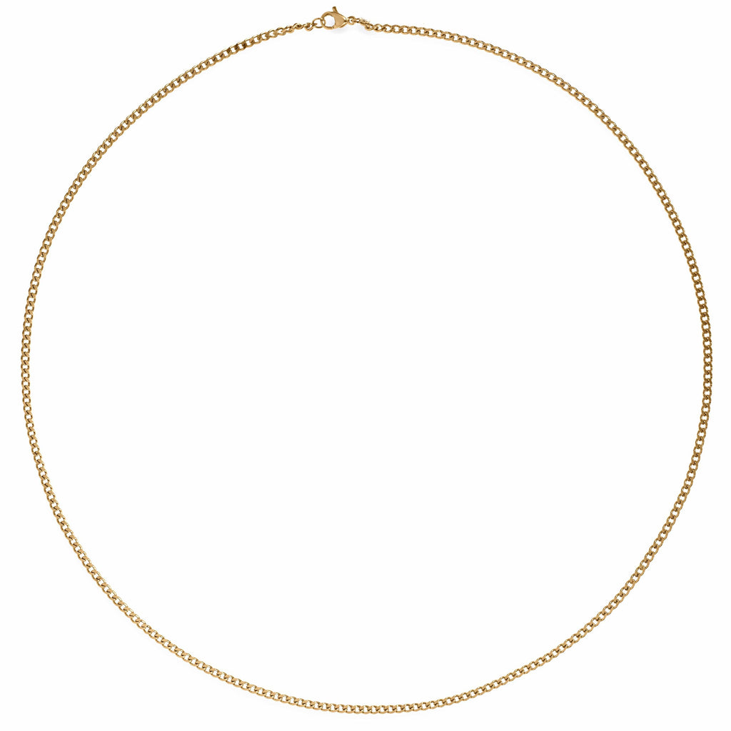 ELLIE VAIL - MONA CURB CHAIN NECKLACE