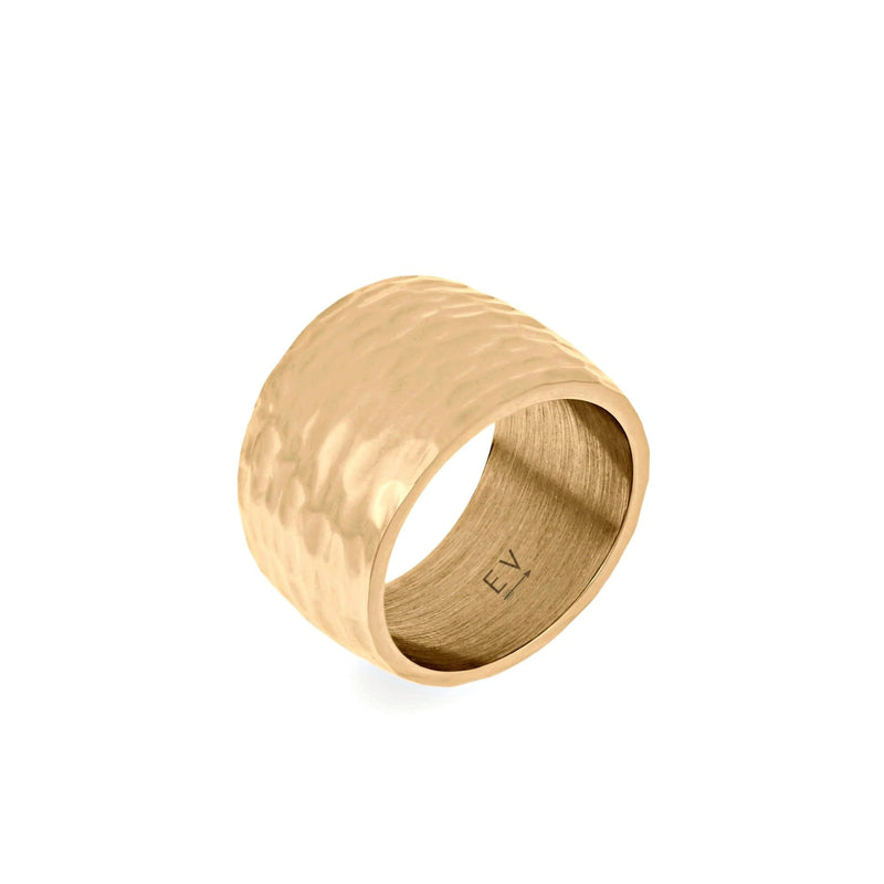 ELLIE VAIL - NICO HAMMERED RING