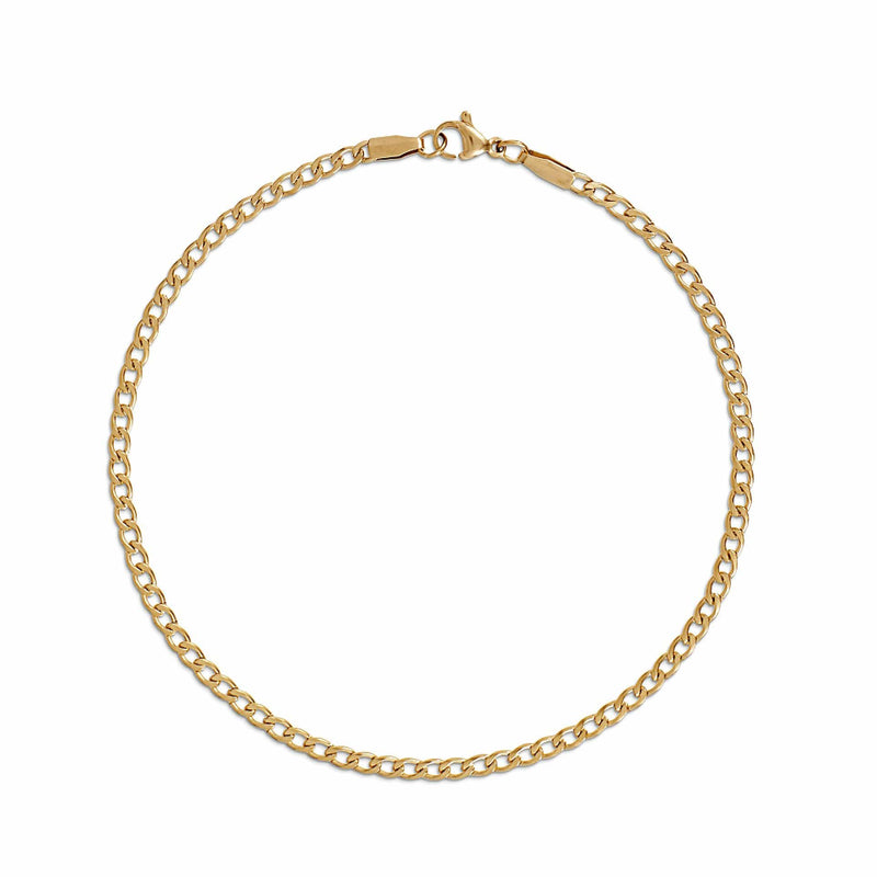 ELLIE VAIL - NYX CURB CHAIN ANKLET