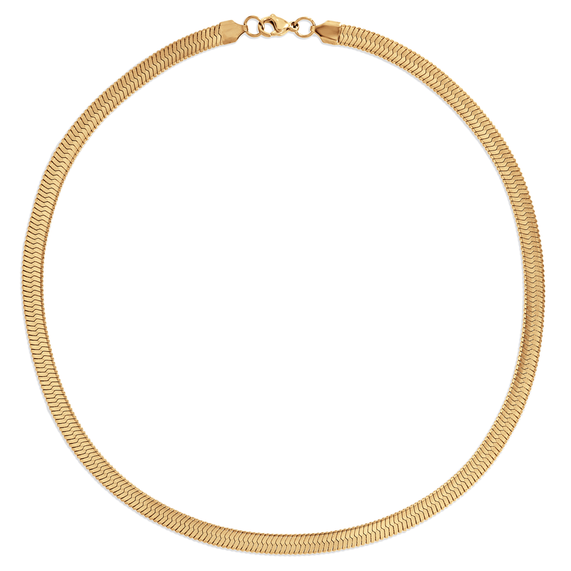 Ellie Vail - Paola Herringbone Chain Necklace