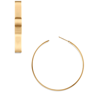 Ellie Vail - Perry Large Hoop Earring