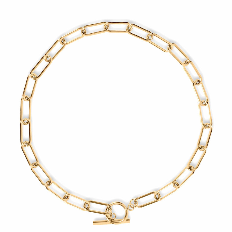 ELLIE VAIL - ZOE TOGGLE CHAIN CHOKER NECKLACE