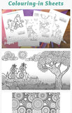 Essential Kids Colouring in Pages for Kids Travel Activities