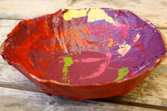 Mothers Day Paper Mache Bowl Kids Can Make