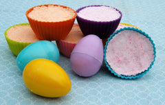 Mothers Day Fizzy Scented Bath Bombs for Kids to Make