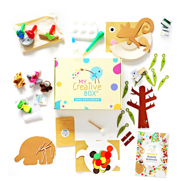 Mini Explorers Farm Creative Box