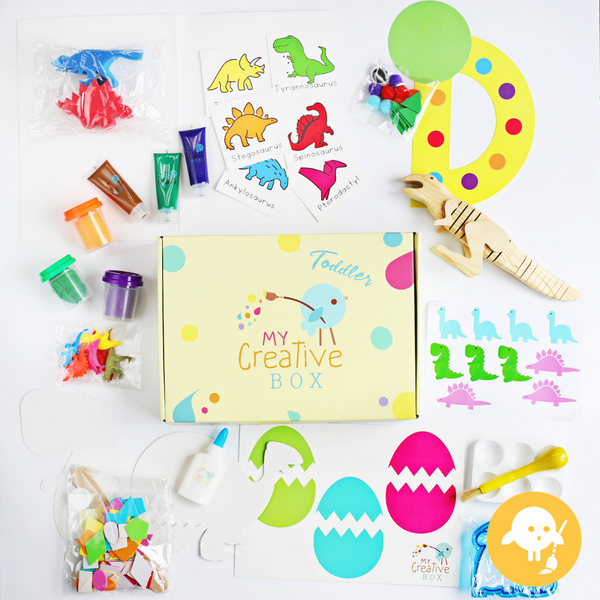 Mini Explorers Dinosaur Creative Box