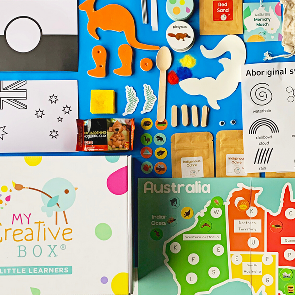 Little Learners Australia Creative Box