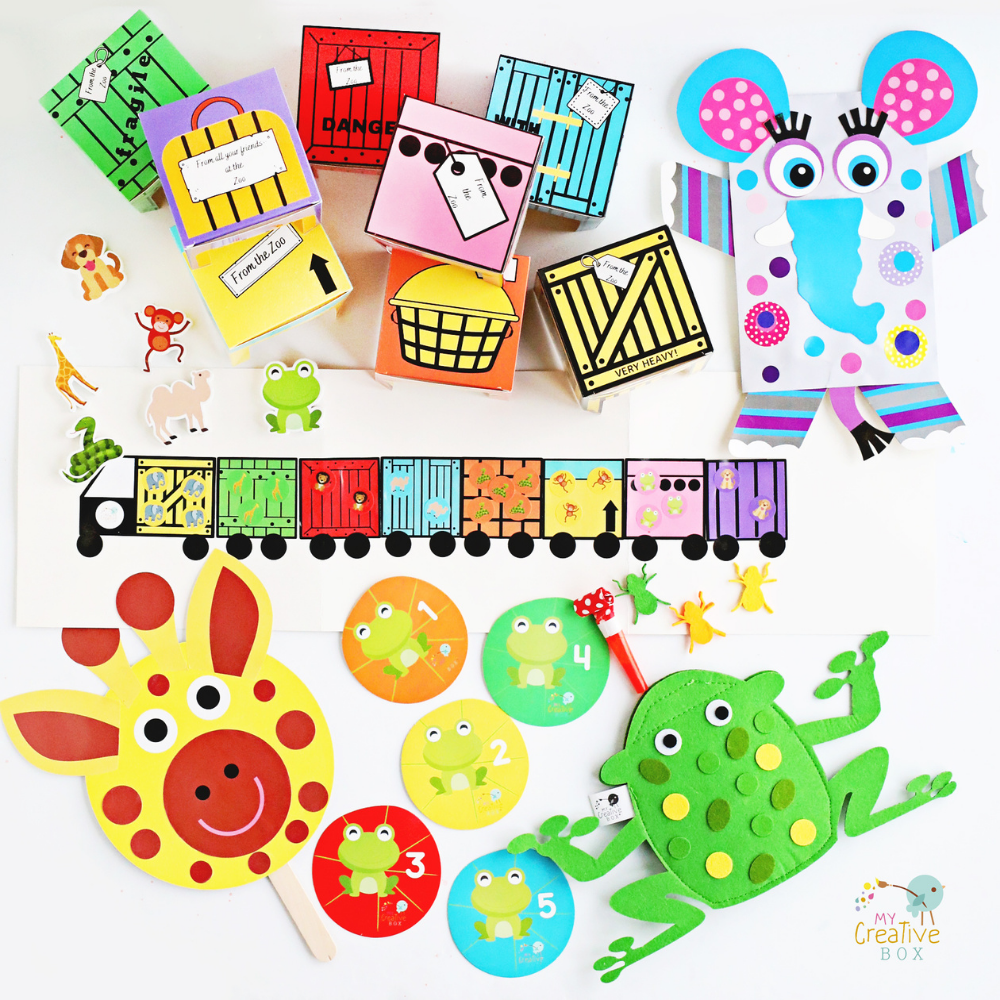 Mini Explorers Dear Zoo Creative Box Book Bundle