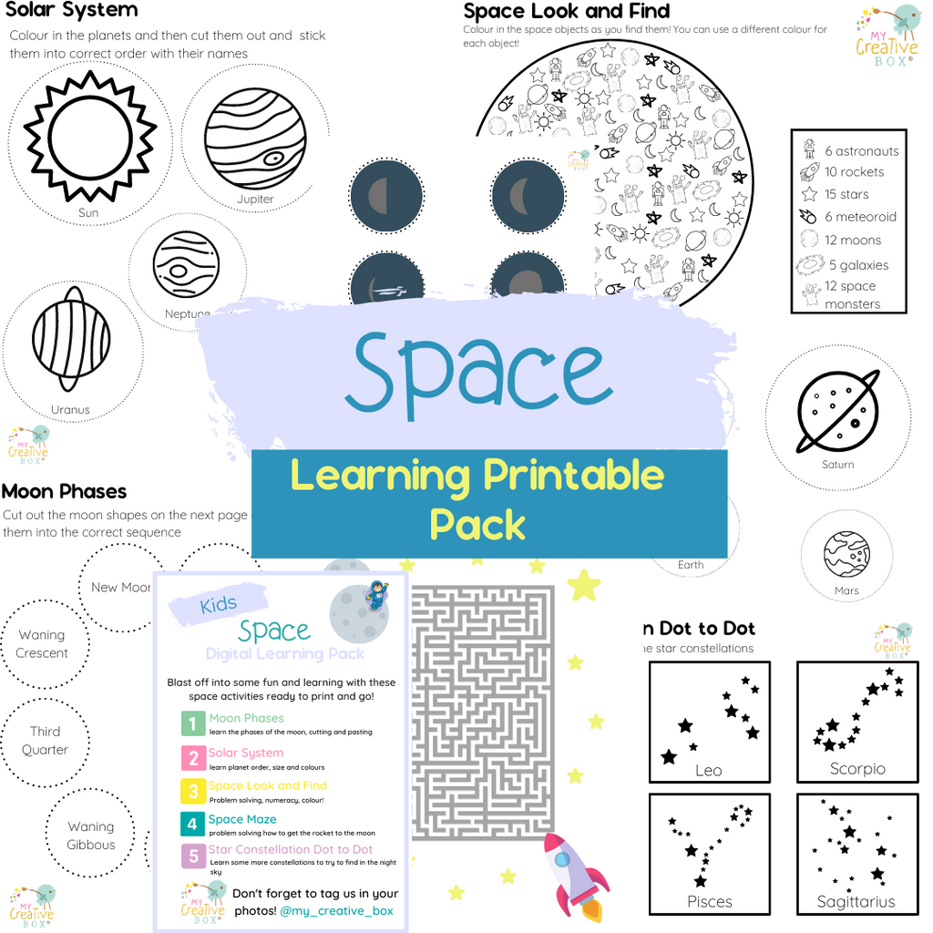 Kids Space Digital Learning Pack
