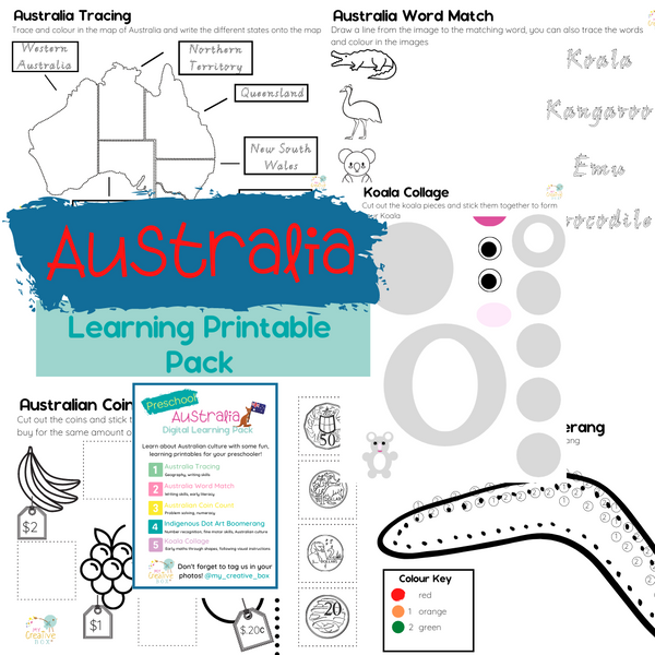 Preschool Australia Digital Learning Pack