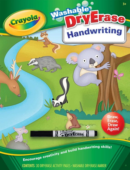 Crayola Washable DryErase Handwriting