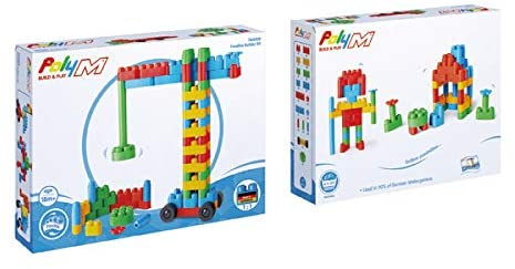 Poly-M Creative Builder Kit | 80 Pieces - My Creative Box