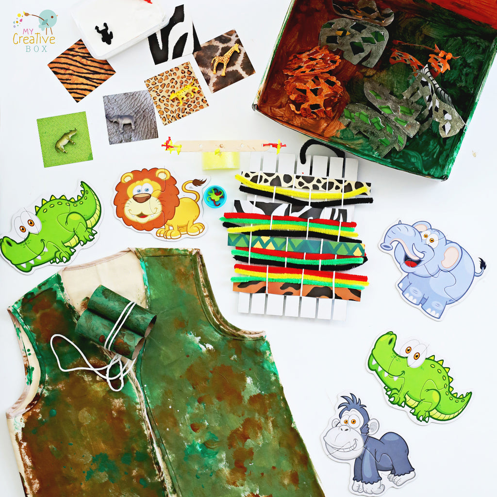 Little Learners African Safari Creative Box