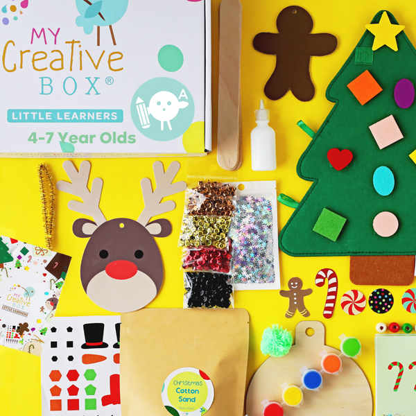Little Learners Christmas Creative Box