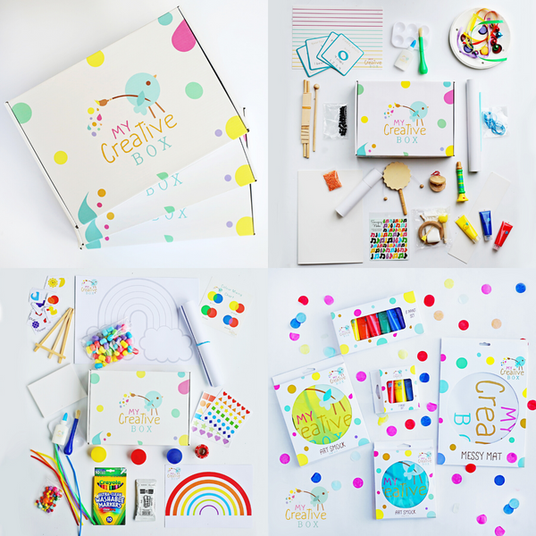 Little Learners | Artists 3 Box Bundle - My Creative Box