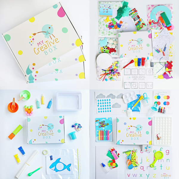 Little Learners | Summer 3 Box Bundle - My Creative Box