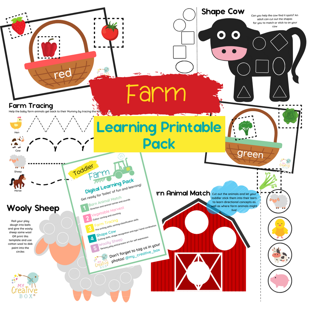 Farm Digital Learning Pack - My Creative Box