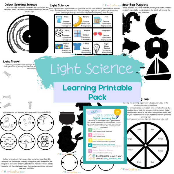 Kids Light Science Digital Learning Pack