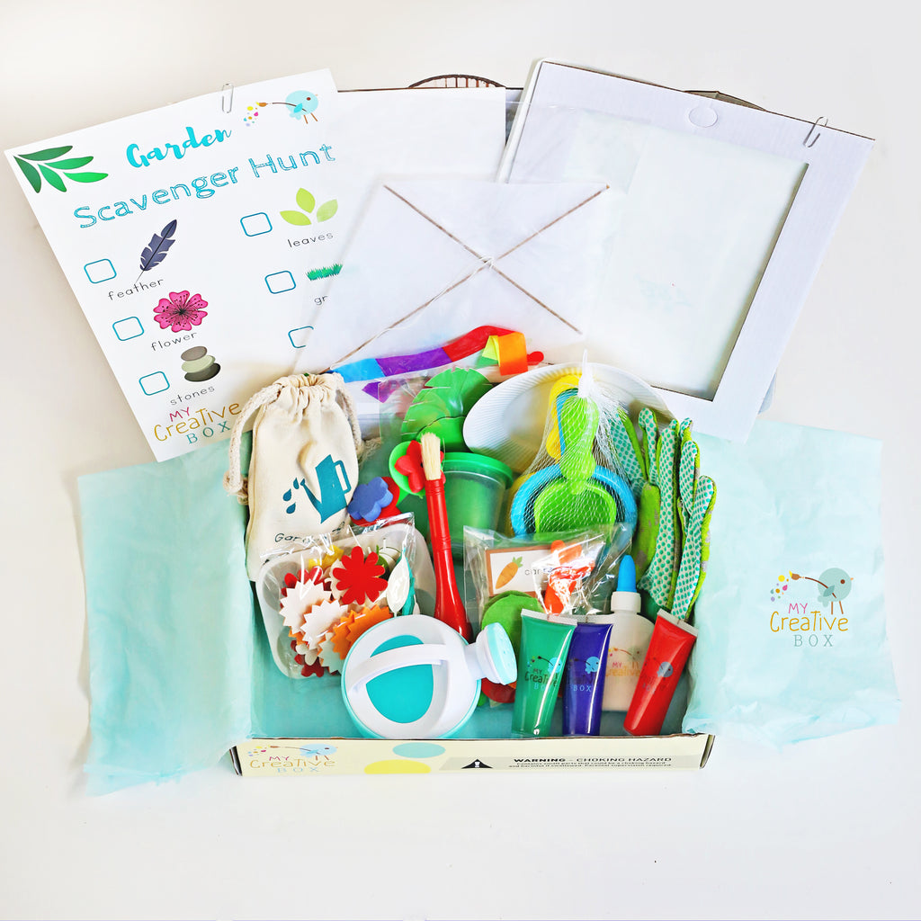 Mini Explorers Garden Creative Box - My Creative Box