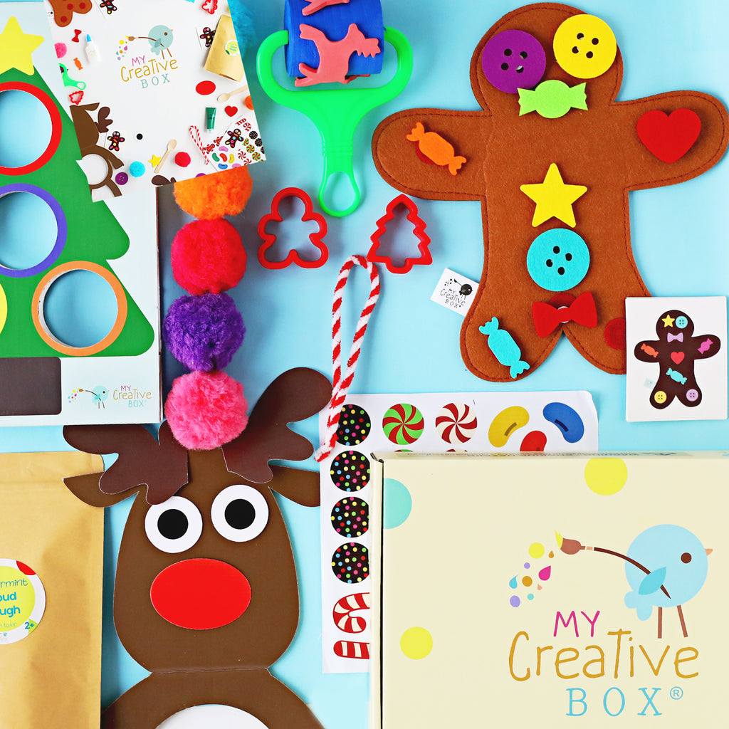 Mini Explorers Christmas Creative Box