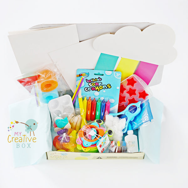 Toddler Water Science Creative Box - My Creative Box