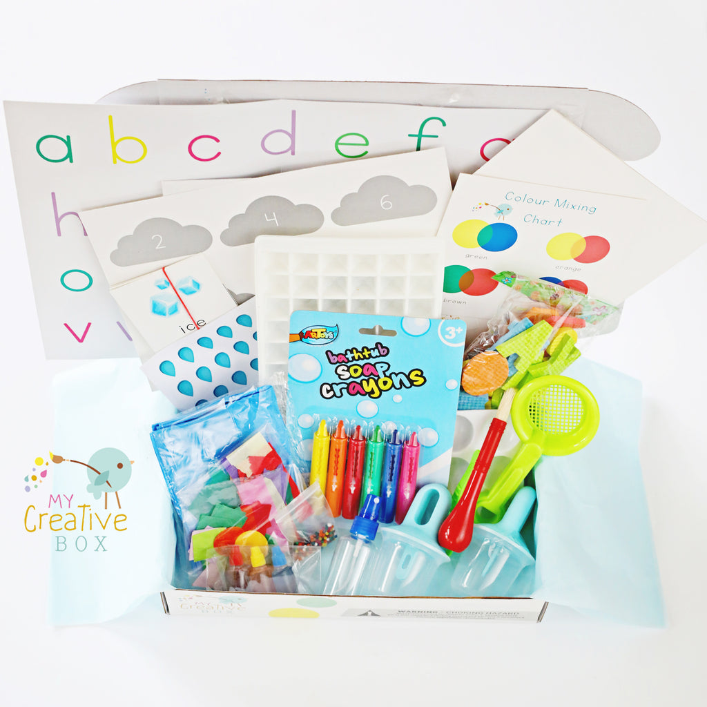 Preschool Water Science Creative Box