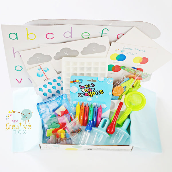 Preschool Water Science Creative Box - My Creative Box