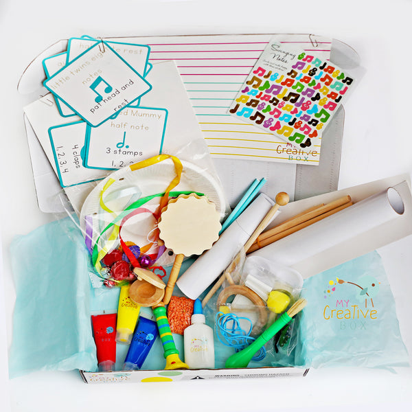 Little Learners Music Creative Box - My Creative Box