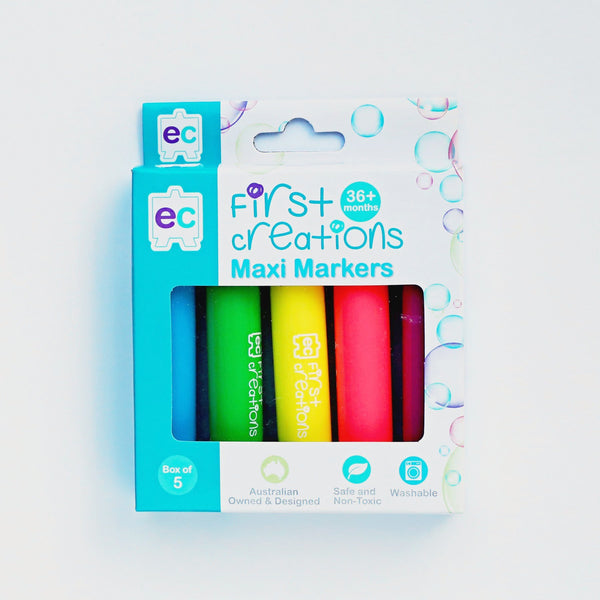First Creations Maxi Markers 5 Pack - My Creative Box