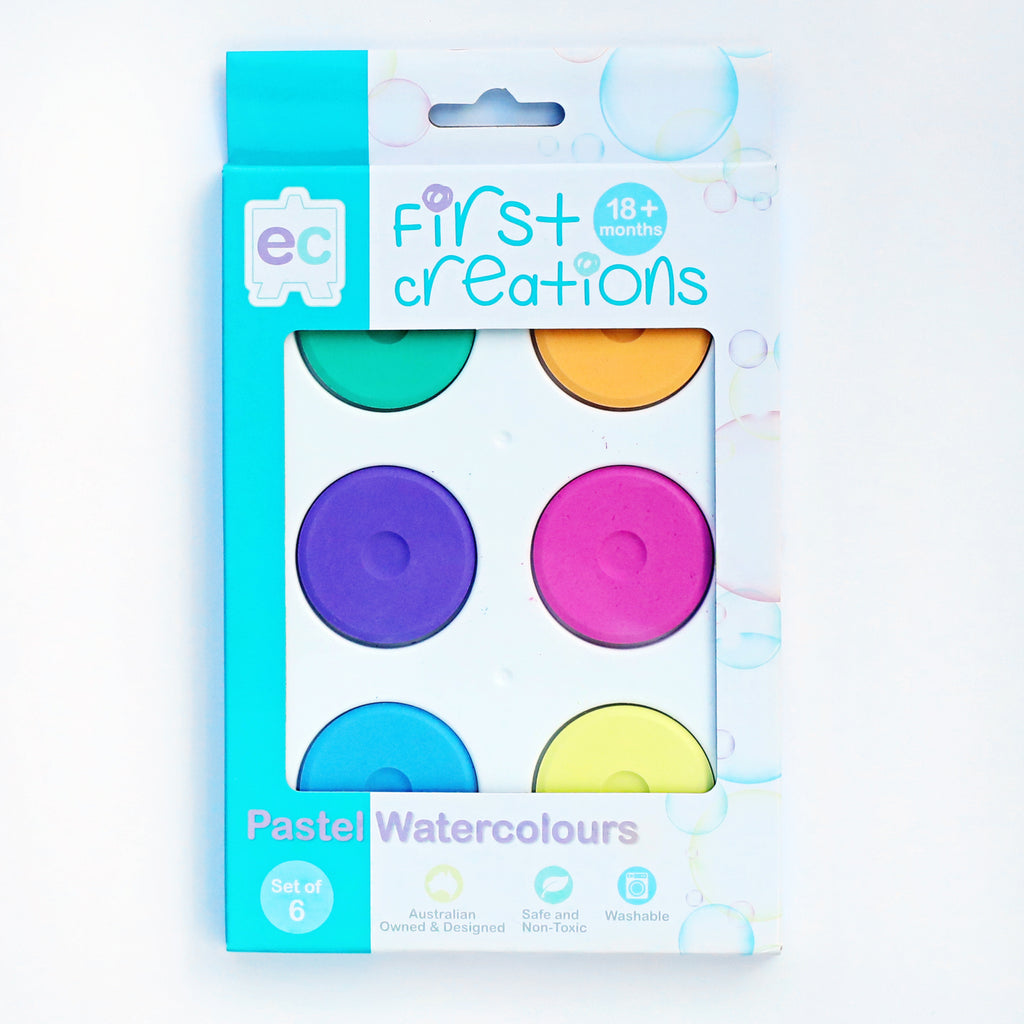 First Creations Water Colour Paint Block - My Creative Box