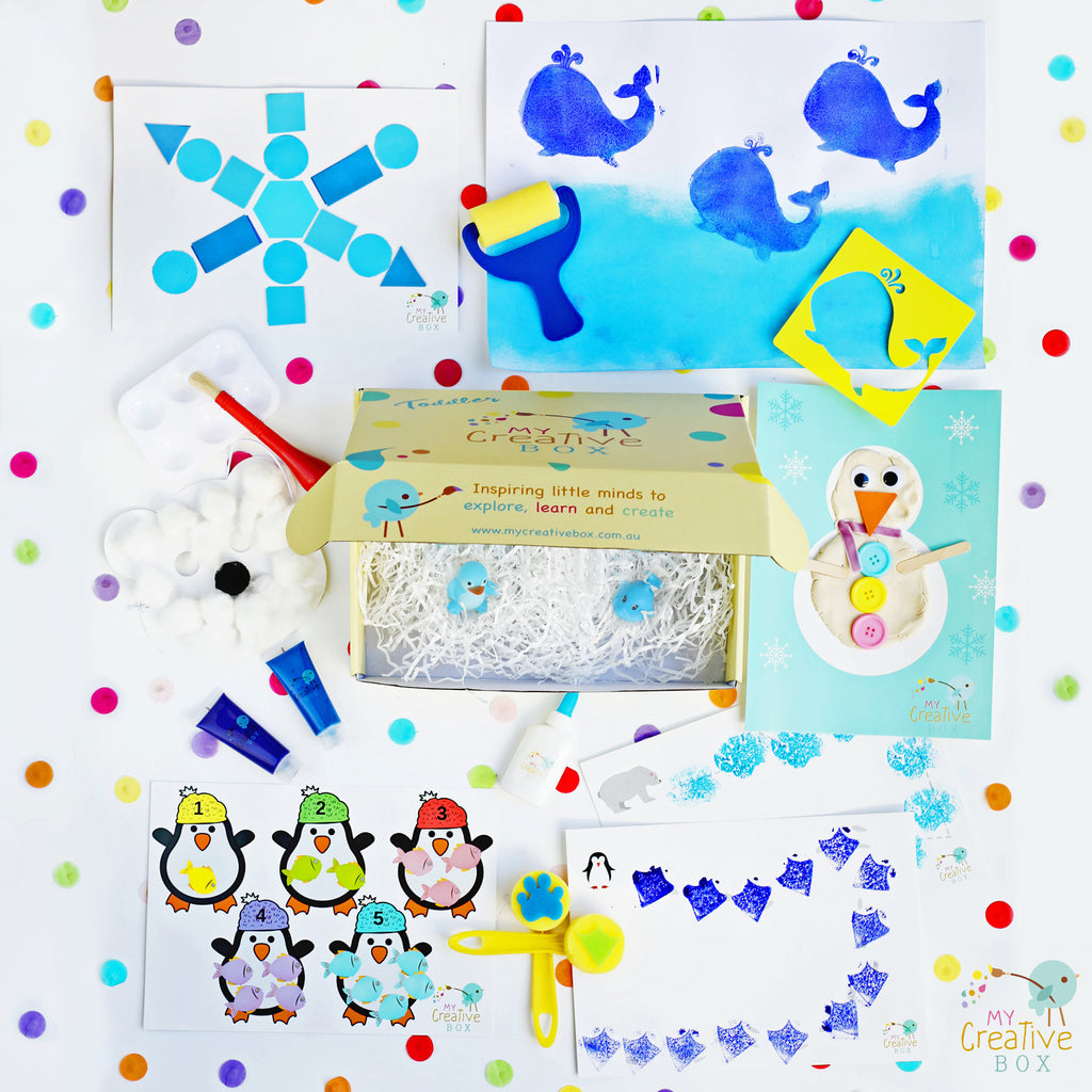 Toddler Arctic Creative Box