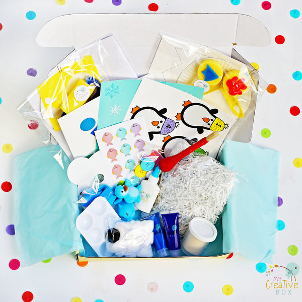 Toddler Arctic Creative Box - My Creative Box