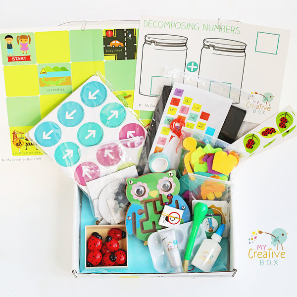 Little Learners Offline Coding Creative Box