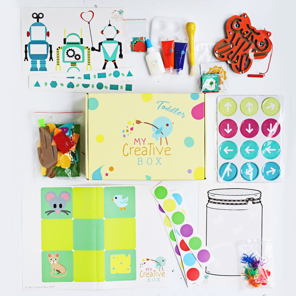 Mini Explorers Offline Coding Creative Box