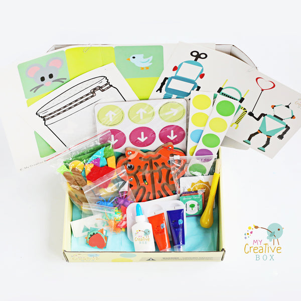 Mini Explorers Offline Coding Creative Box - My Creative Box