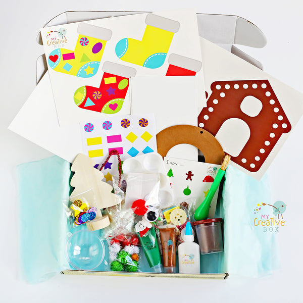 Toddler Christmas Creative Box - My Creative Box