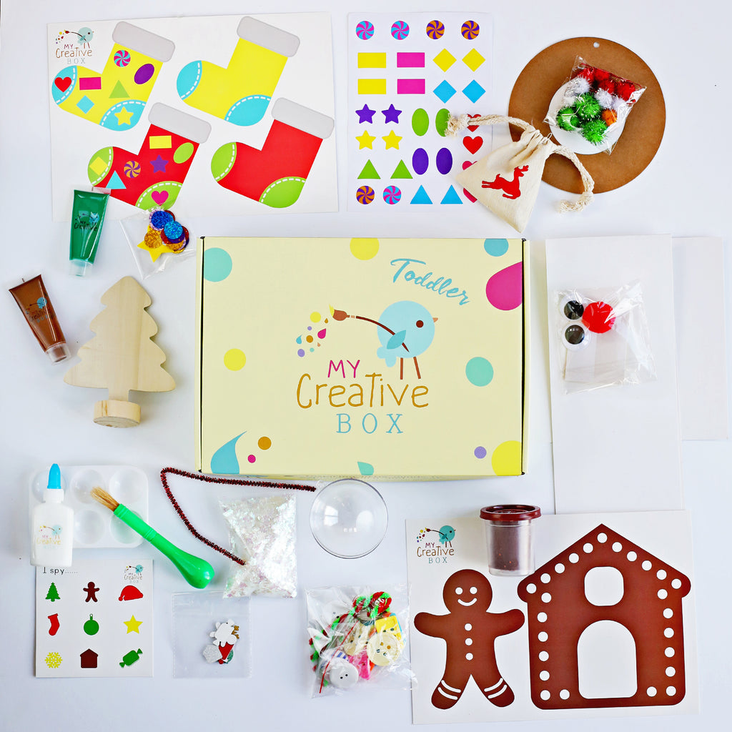 Toddler Christmas Creative Box