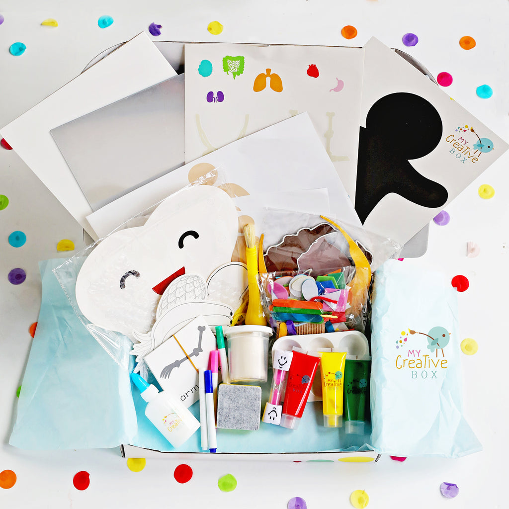Preschool Human Body Creative Box - My Creative Box