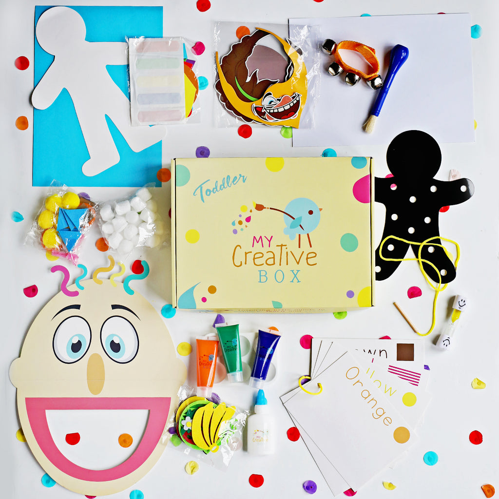 Toddler Human Body Creative Box
