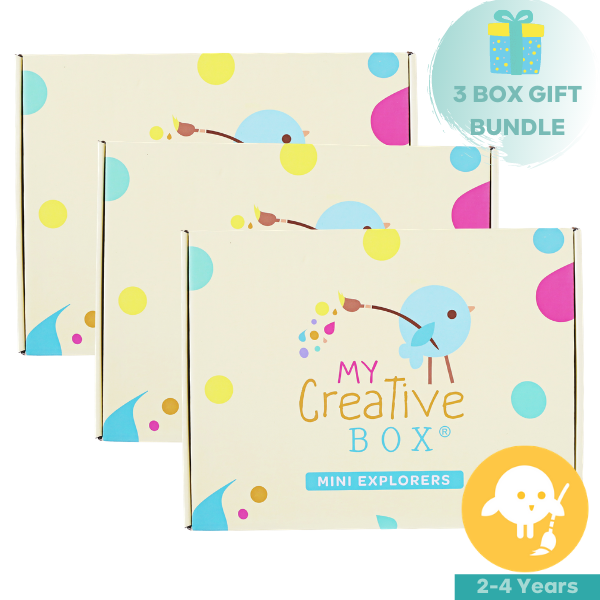 My Creative Box | Mini Explorers 3 Box Bundle