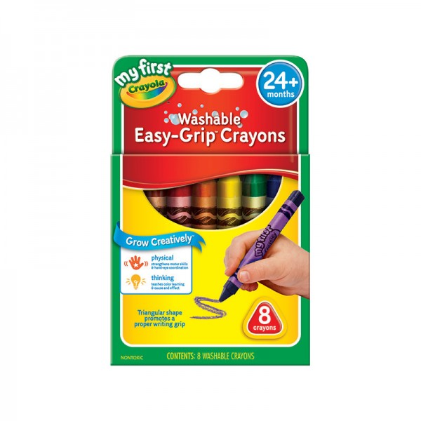 Crayola Triangle Crayons - My Creative Box