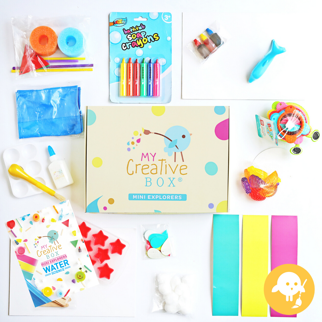 Mini Explorers Water Science Creative Box