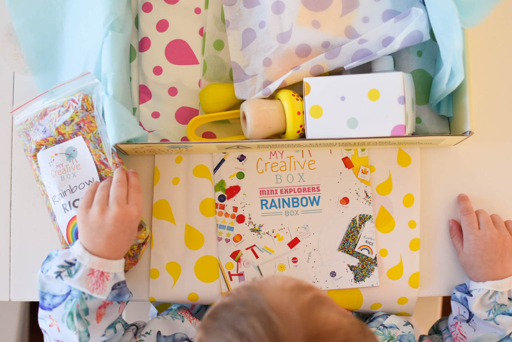 Mini Explorers Rainbow Creative Box