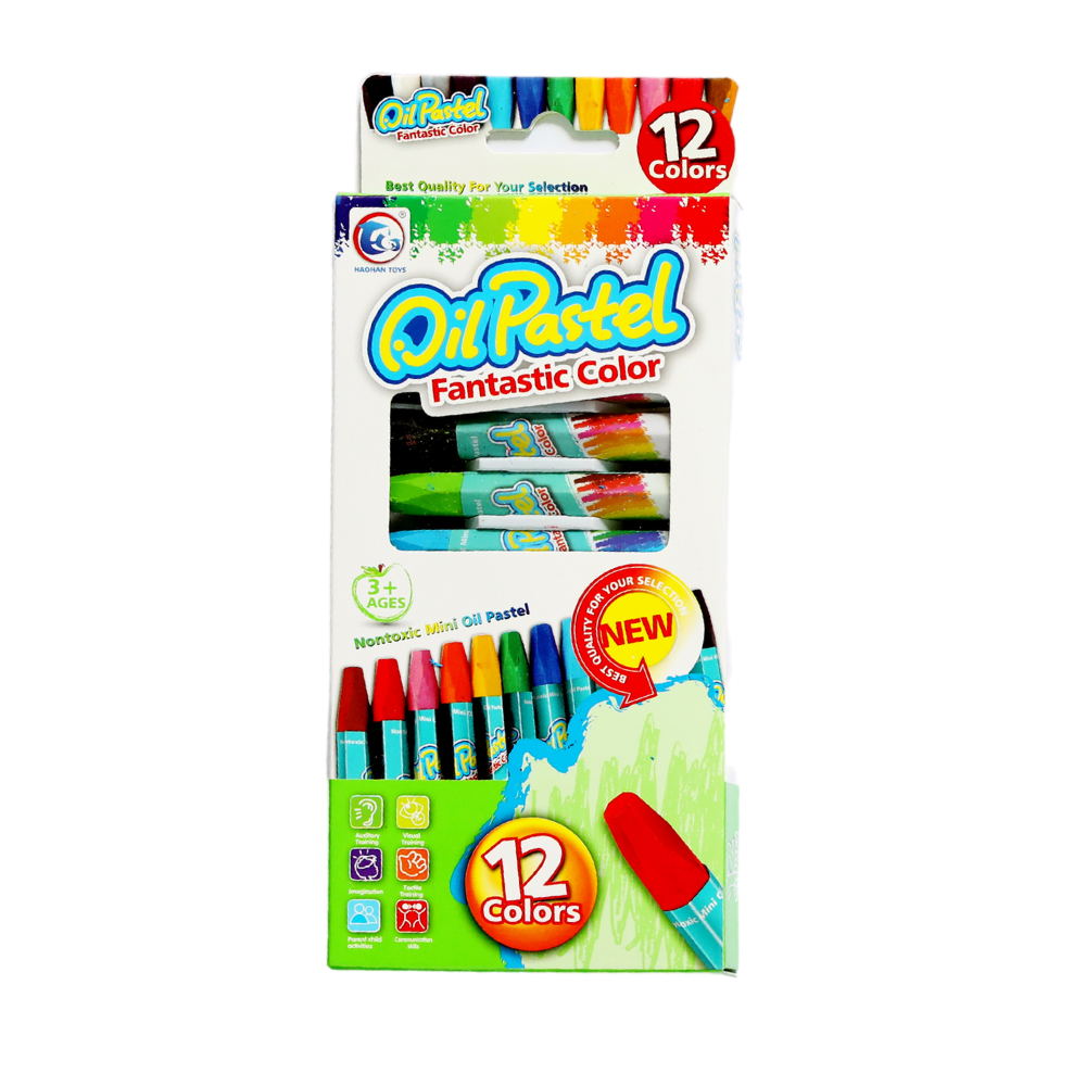 Oil Pastels | Non Toxic Set of 12