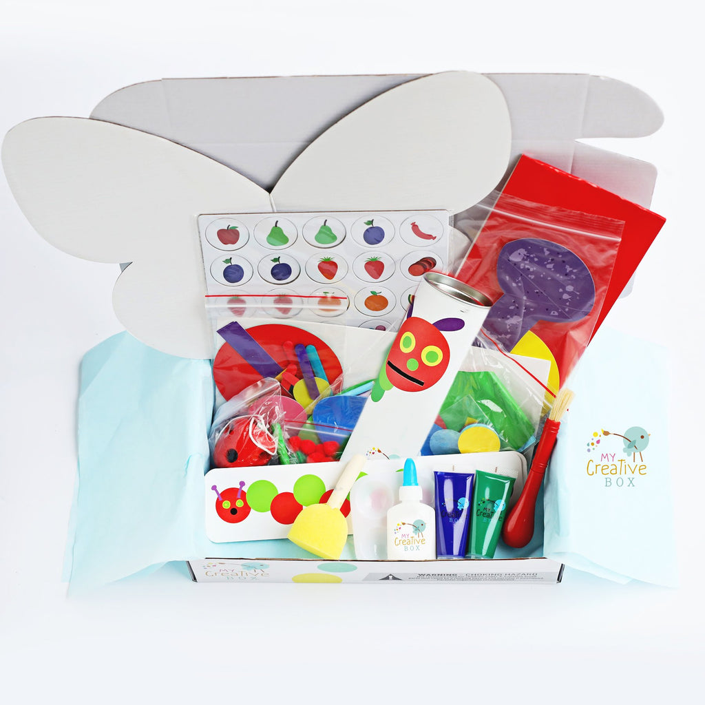 Little Learners Hungry Caterpillar Creative Box Book Bundle - My Creative Box