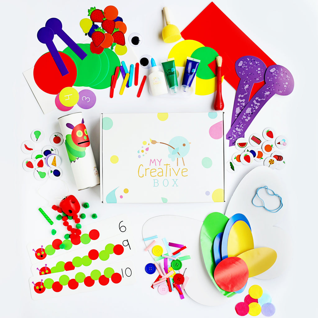 Little Learners Hungry Caterpillar Creative Box - My Creative Box